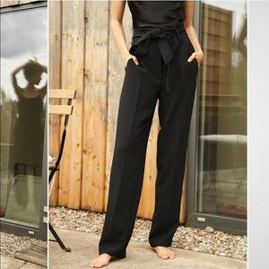 Aritzia Wilfred High Tied Pant